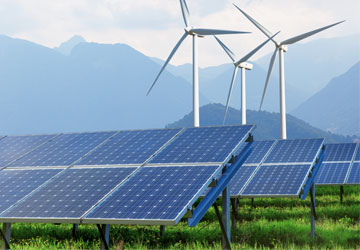 Data communications for renewable power generation