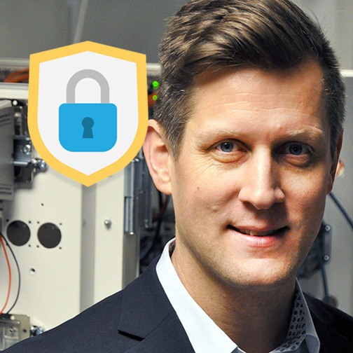 Niklas Mörth, Cybersecurity Product Manager at Westermo.