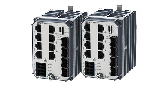 Westermo Lynx series rugged and compact Ethernet switches.