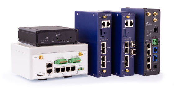 Westermo Virtual Access range of industrial LTE routers and gateways.