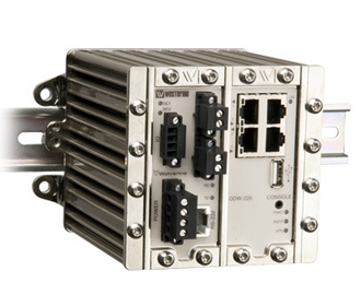 Industrial Ethernet Extender with serial support DDW-226 by Westermo.
