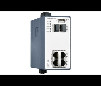 Westermo Lynx Managed Industrial Ethernet Switch with Routing Functionality L206-F2G.